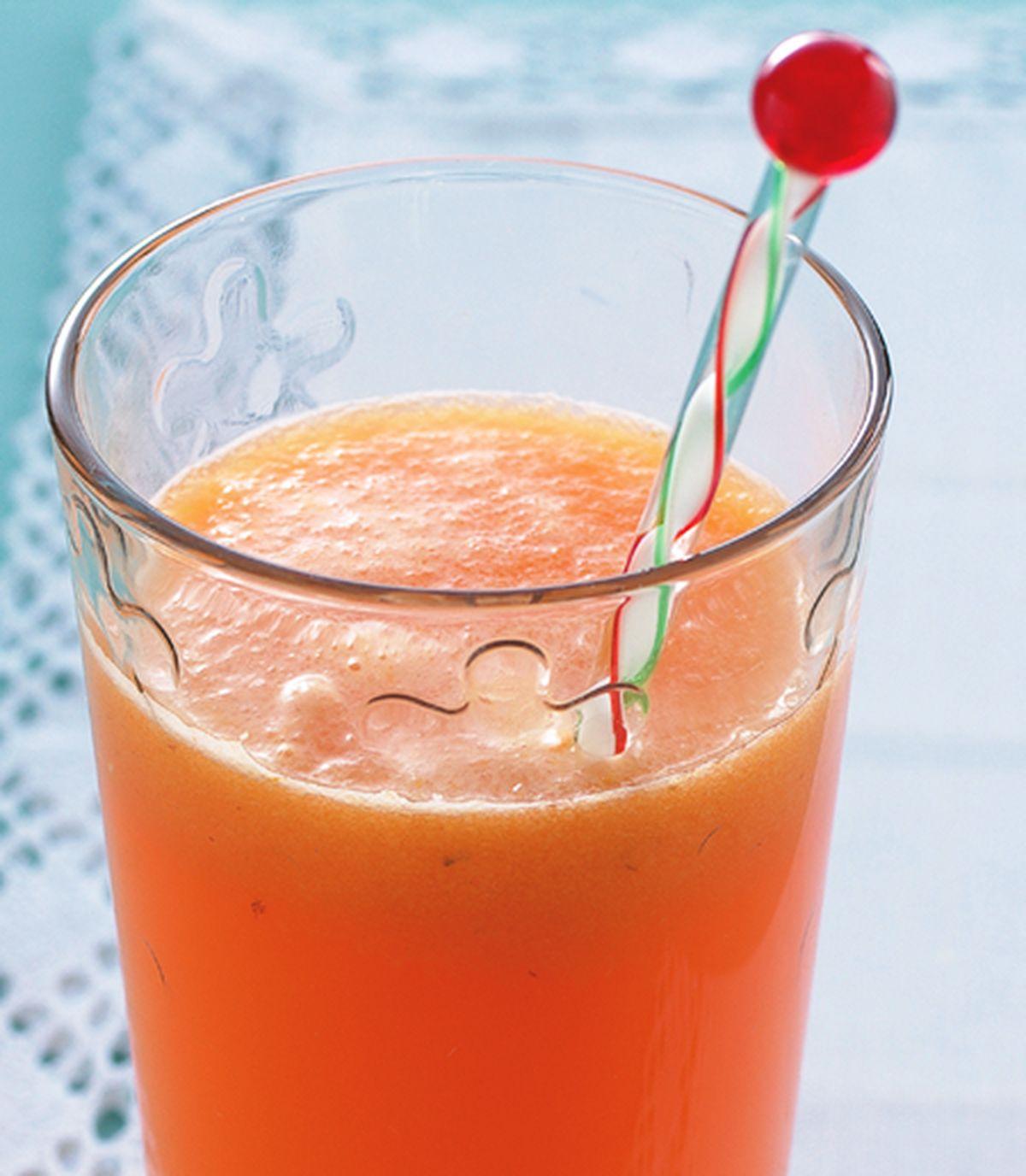 食譜:紅蘿蔔黃椒芒果汁