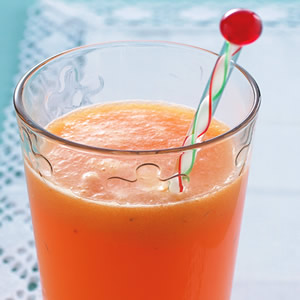 紅蘿蔔黃椒芒果汁