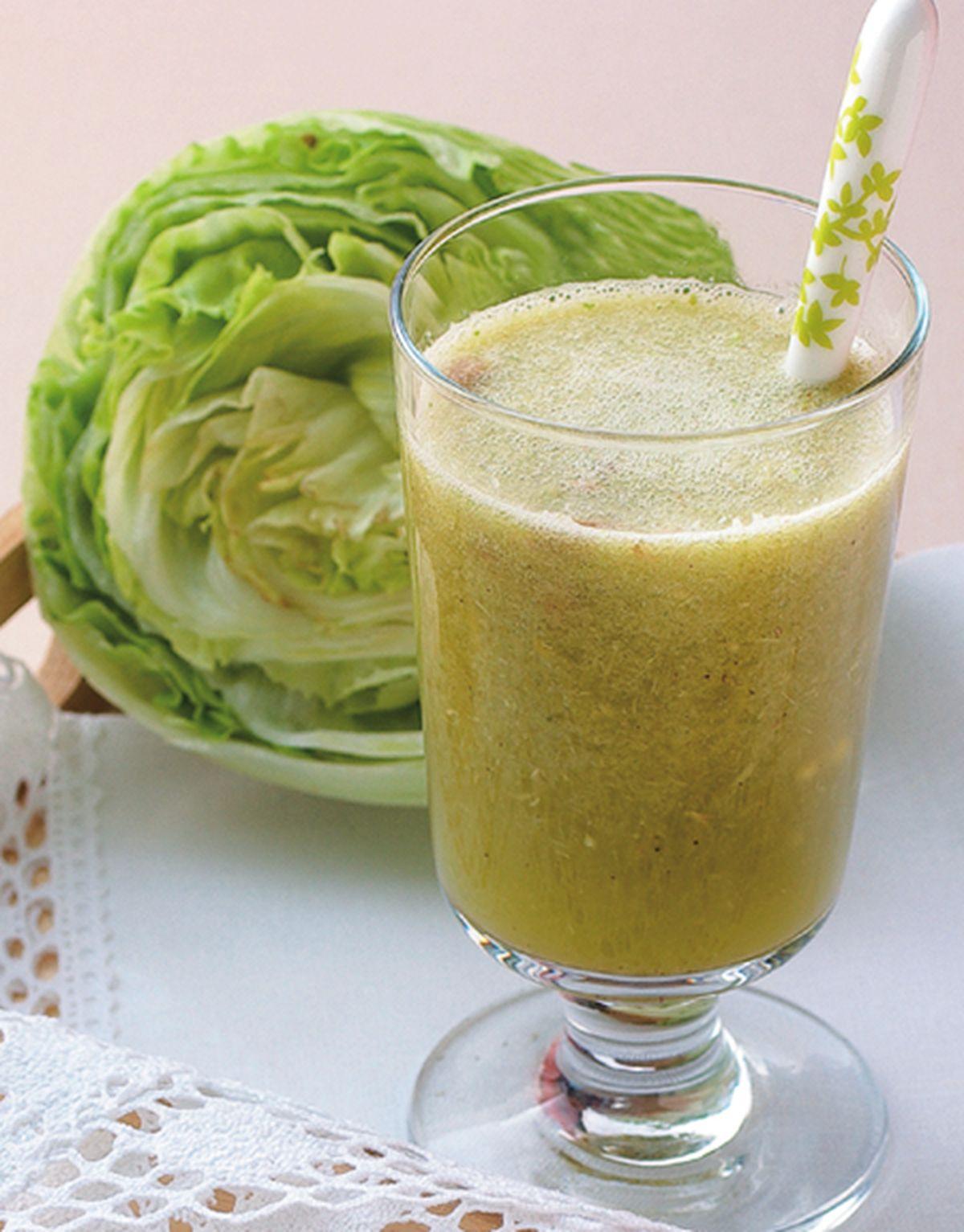 食譜:萵苣牛蒡汁