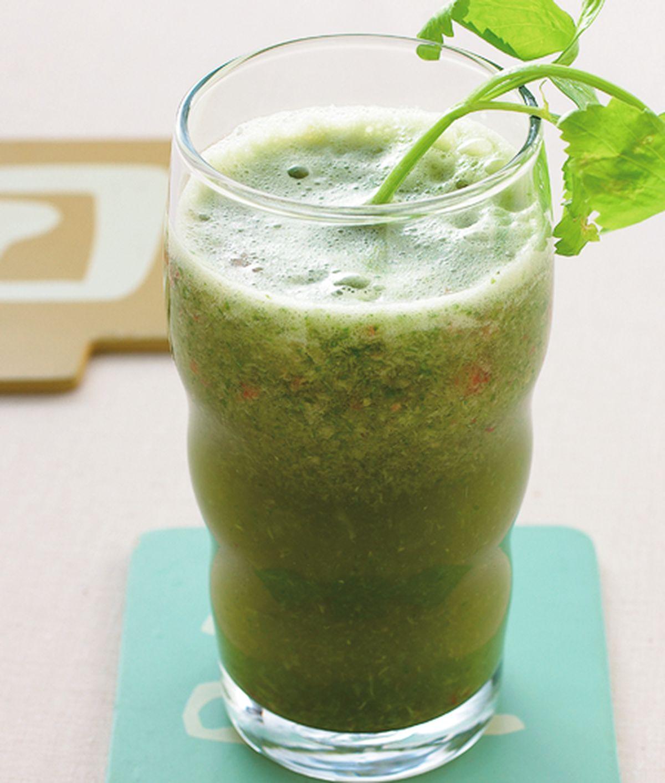 食譜:秋葵蘋果汁