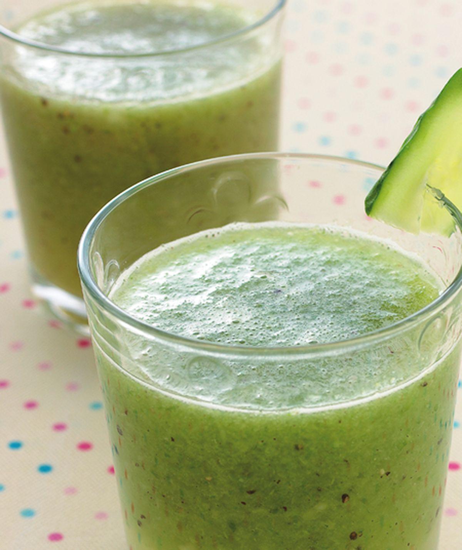食譜:奇異果蘆筍汁