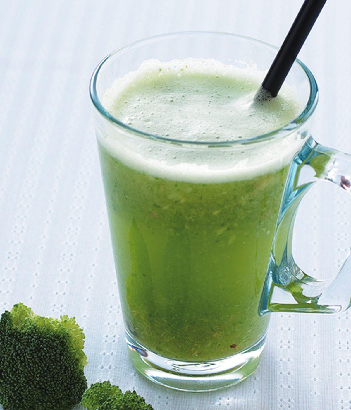 食譜:花椰菜芹菜蘋果汁