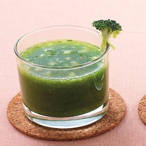 花椰菠菜蘋果汁