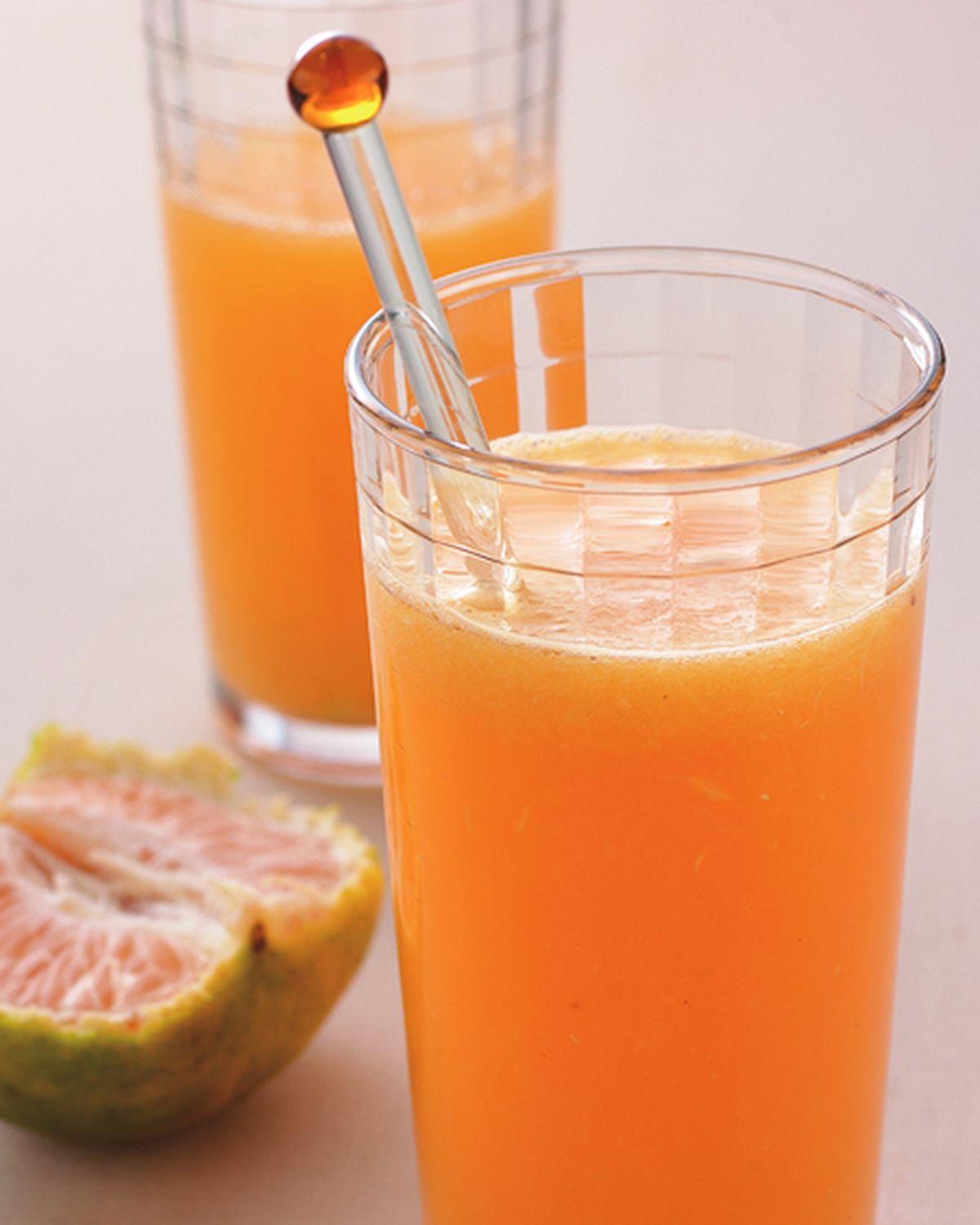 食譜:柚檸香橘汁