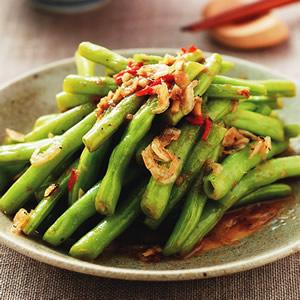 蝦醬炒四季豆