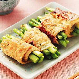 腐衣煎蘆筍