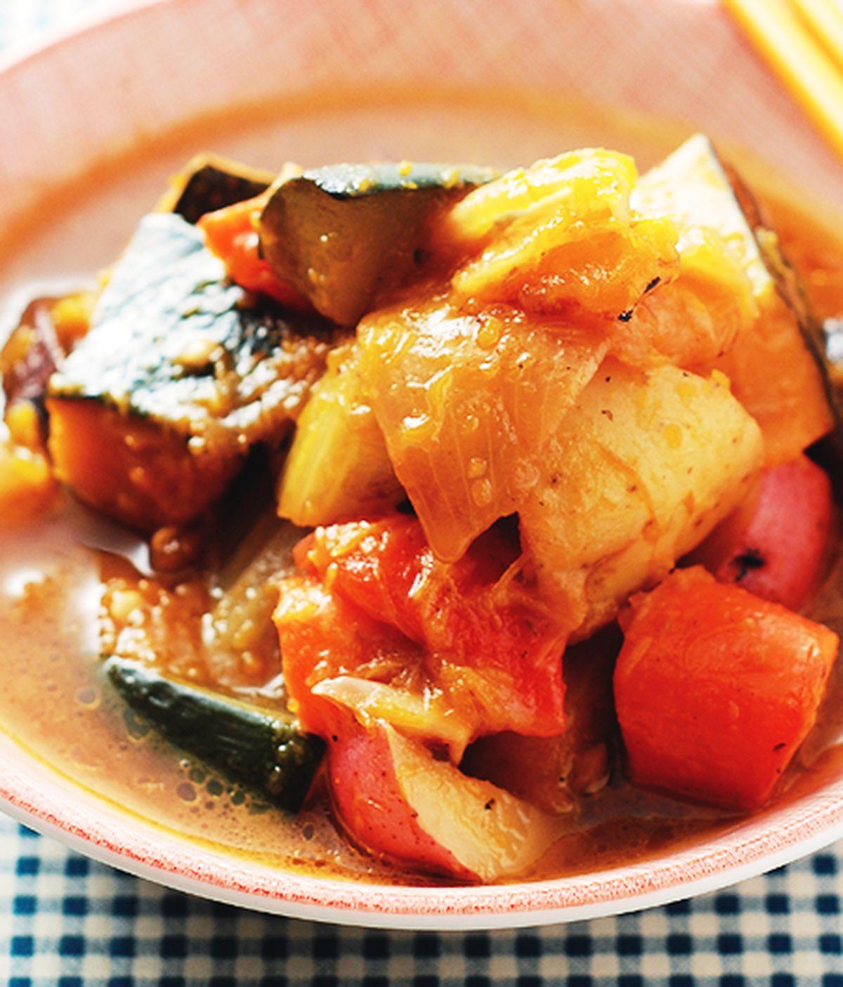 食譜:什錦燉蔬菜