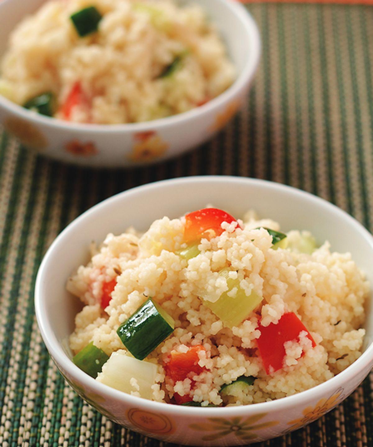 食譜:北非小米燉蔬菜