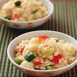 北非小米燉蔬菜