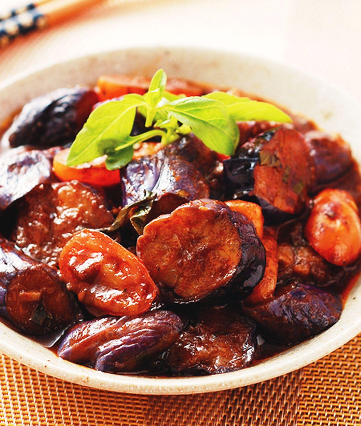 食譜:義式香茄燉紫茄