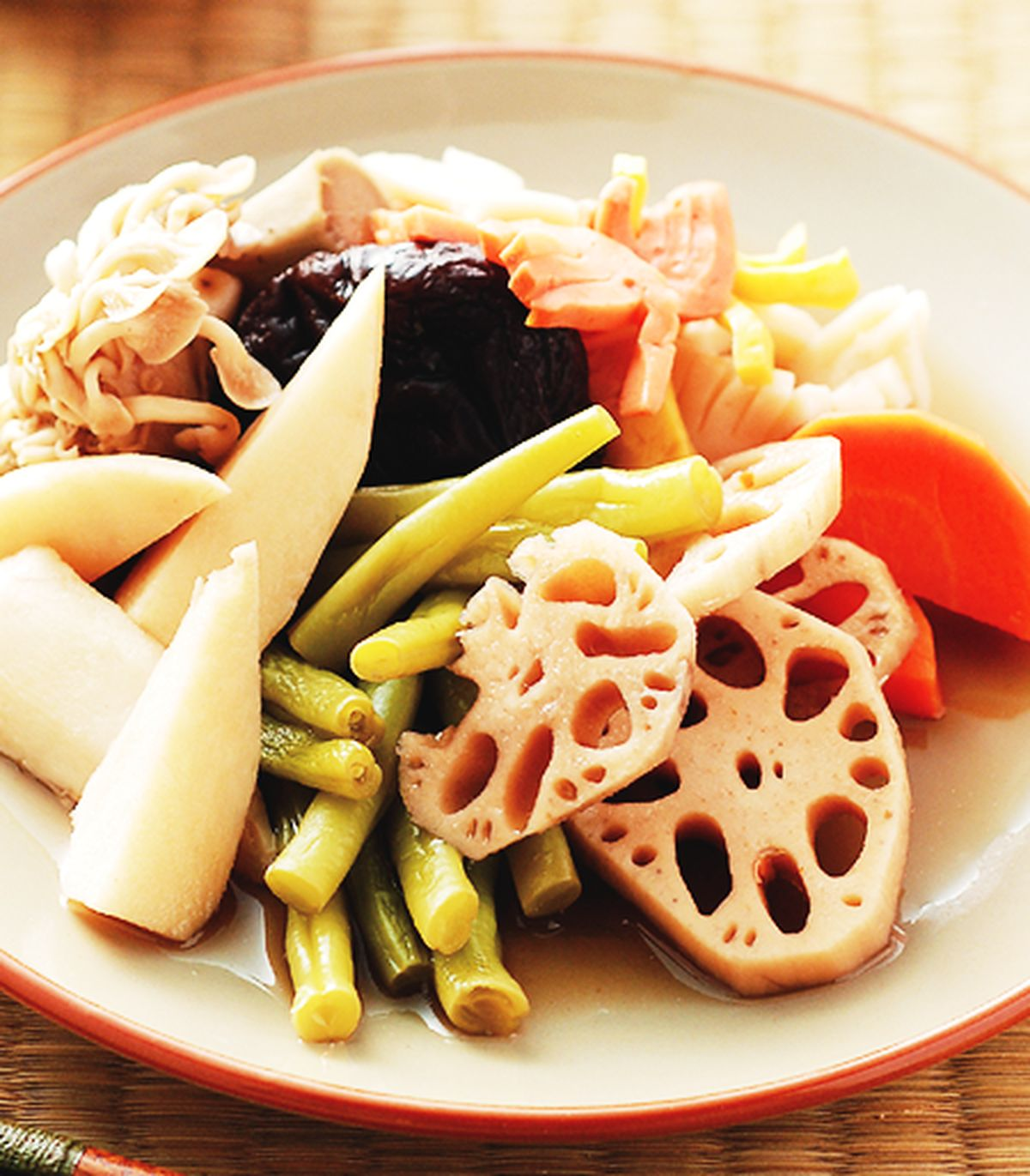 食譜:日式蔬菜煮