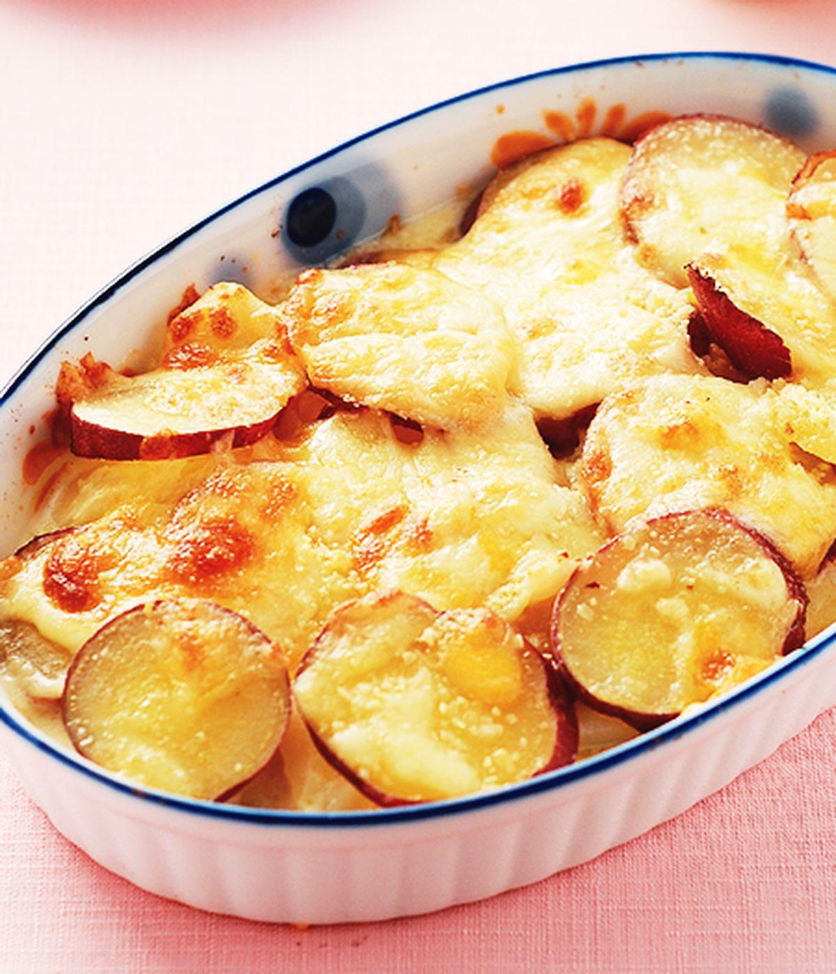 食譜:焗烤雙色甜薯