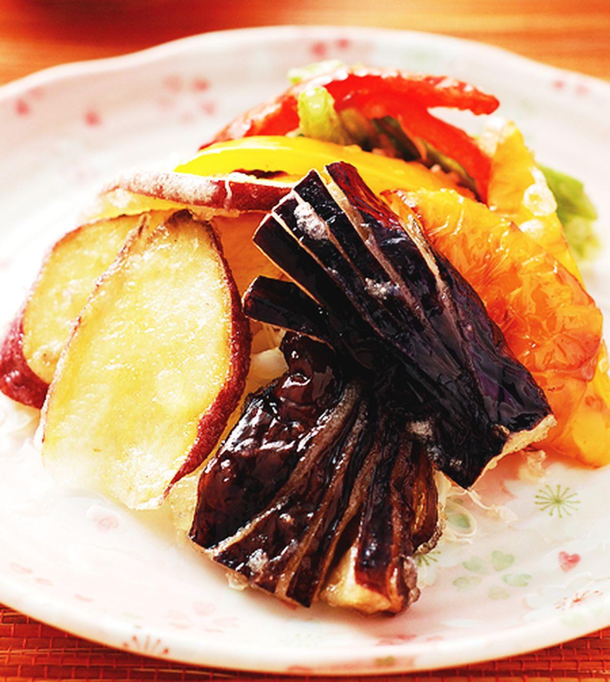 食譜:炸菜天婦羅