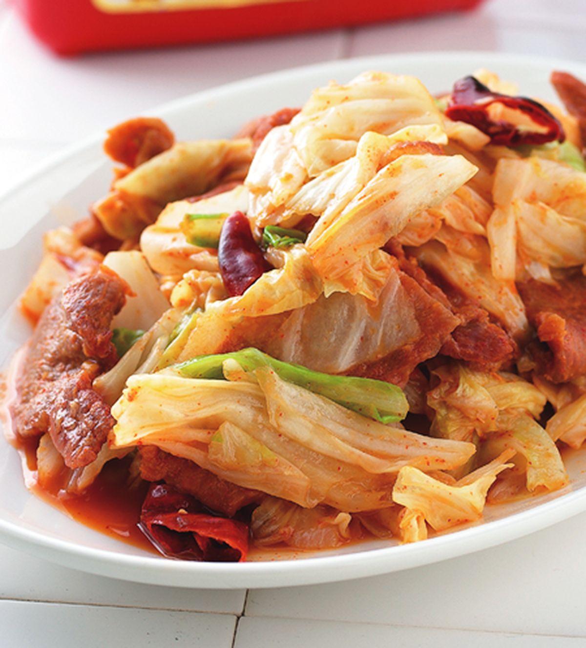 食譜:辣炒回鍋肉
