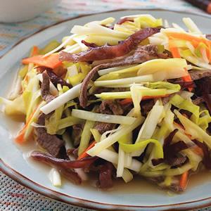 韭黃炒牛肉絲(1)