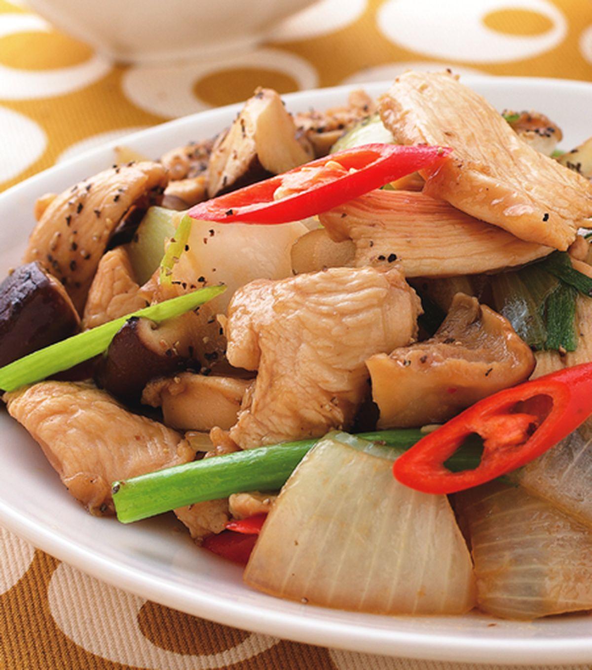 食譜:洋蔥炒雞片