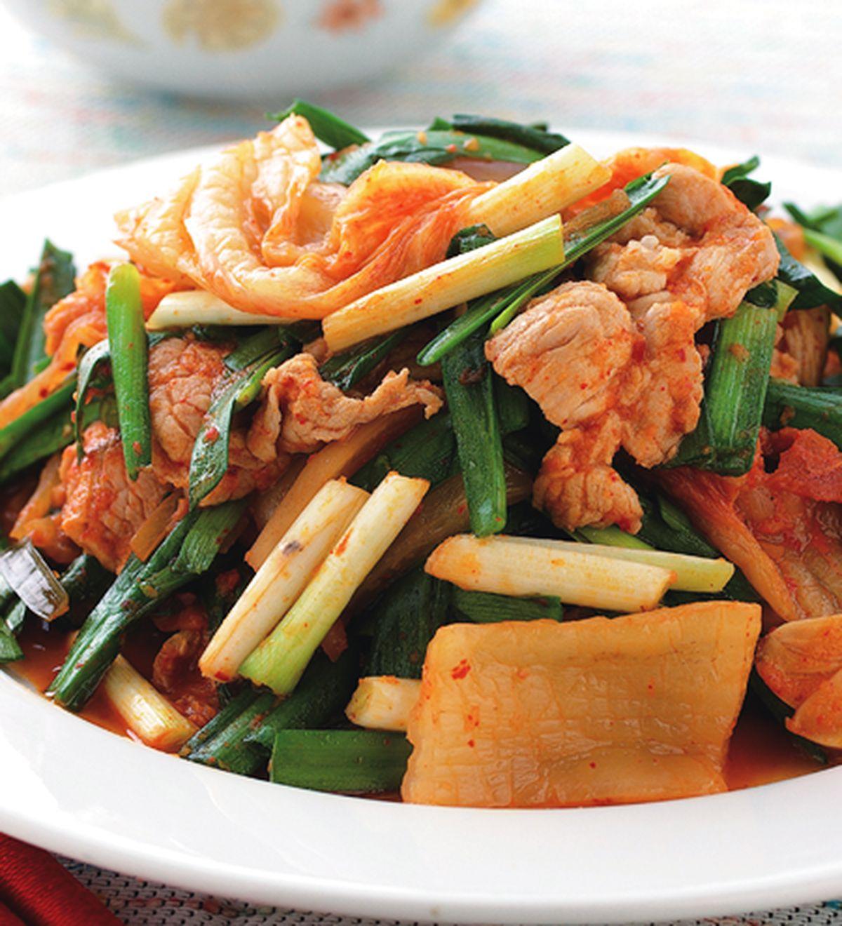 食譜:泡菜炒肉片(3)
