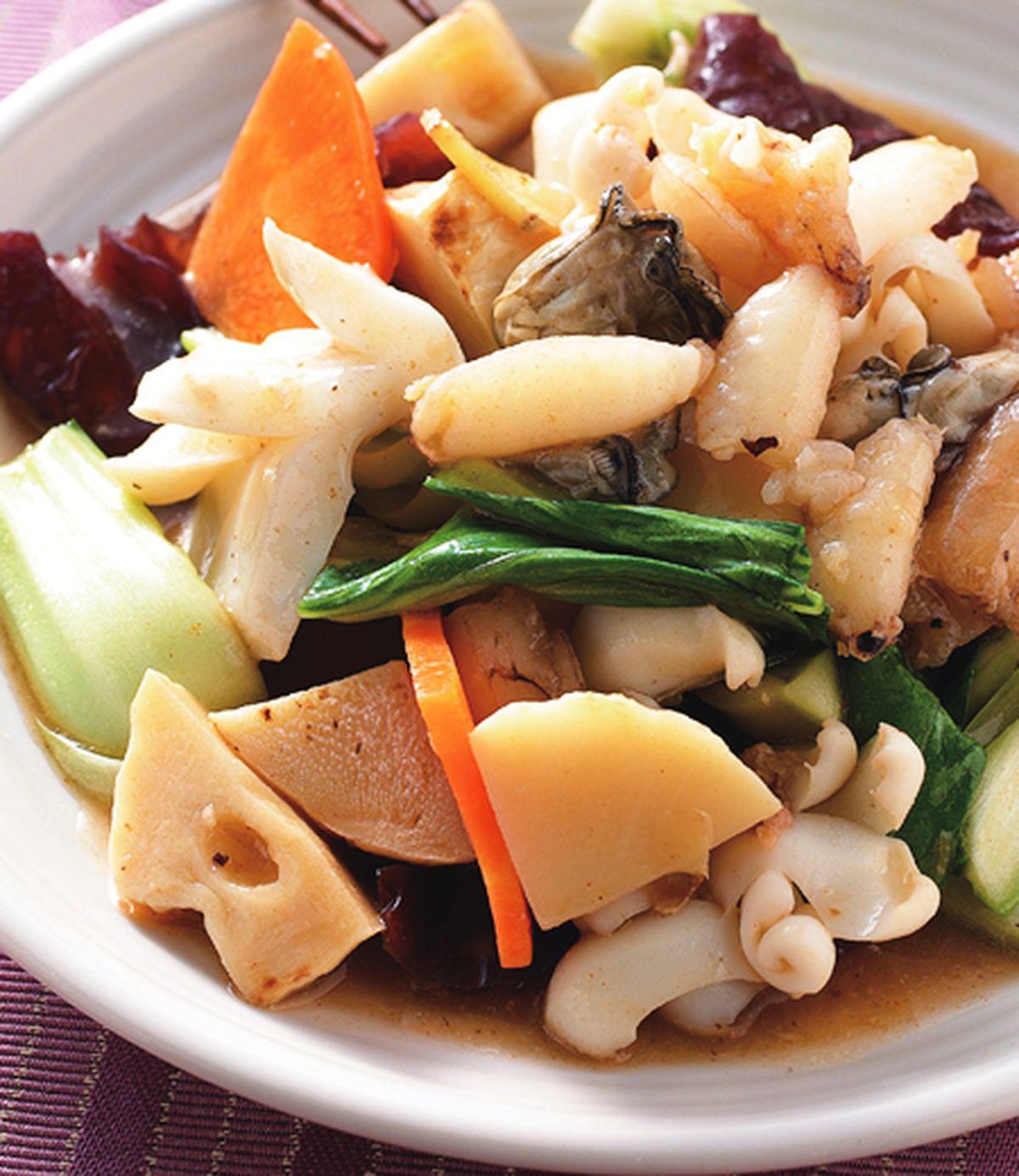 食譜:木耳炒三鮮
