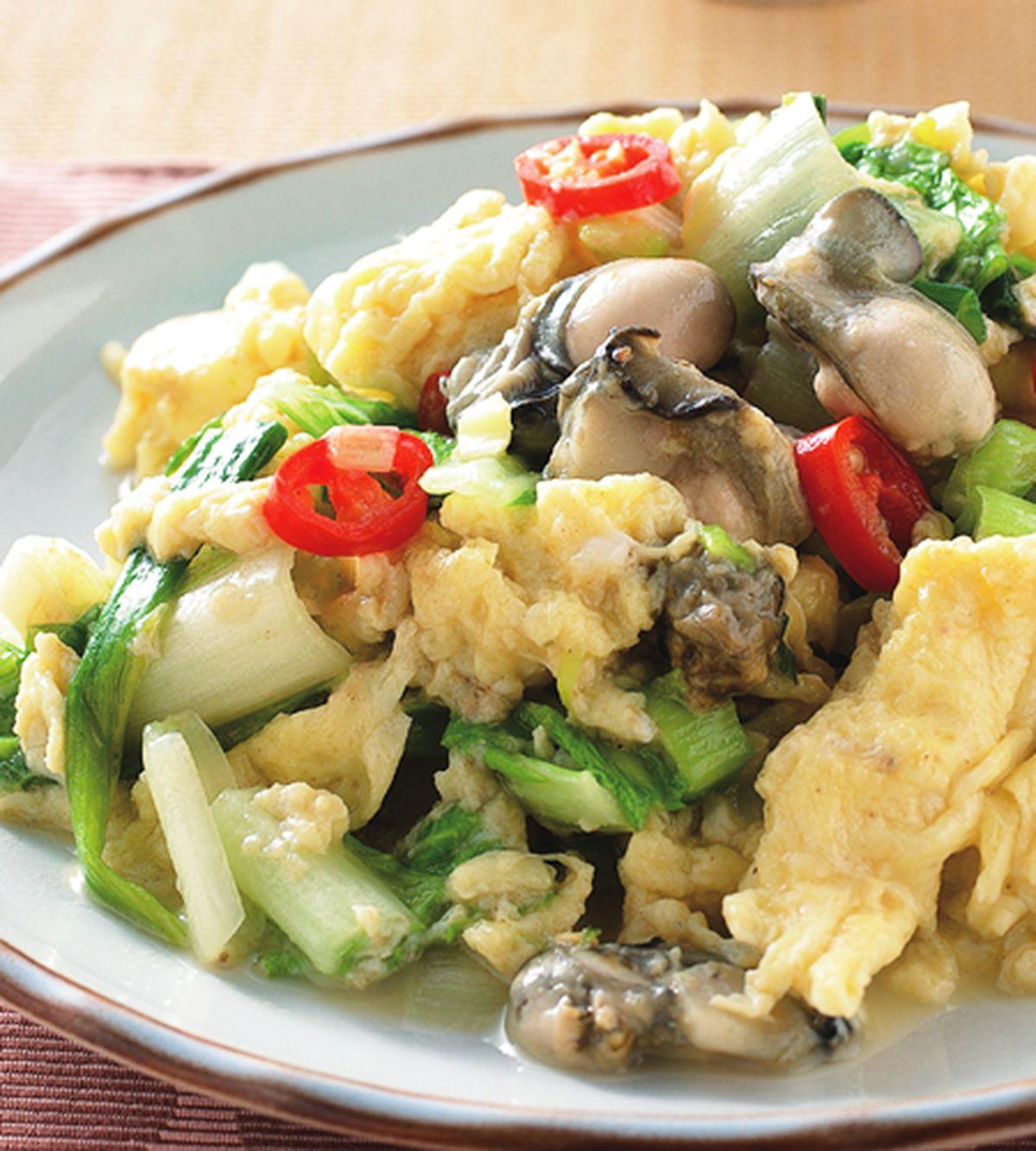 食譜:香蔥炒牡蠣肉