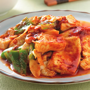 回鍋豆腐(1)