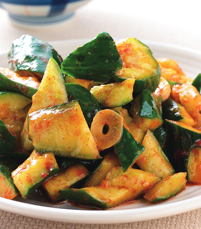 食譜:辣炒脆黃瓜