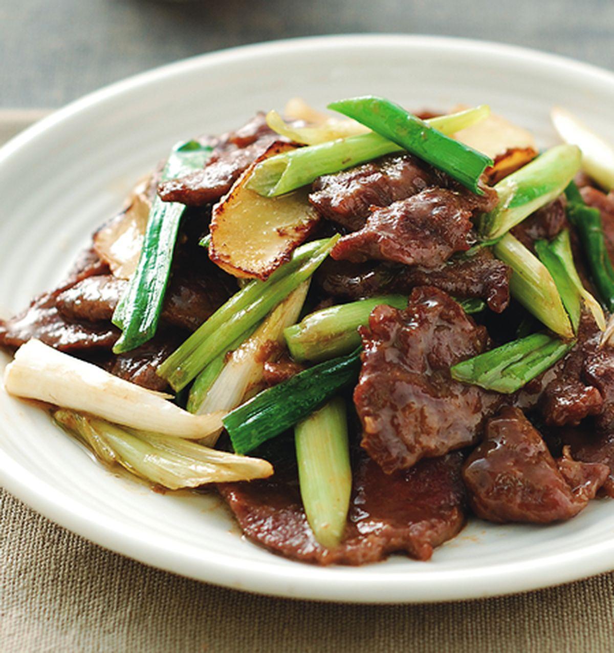 食譜:蔥爆牛肉(10)