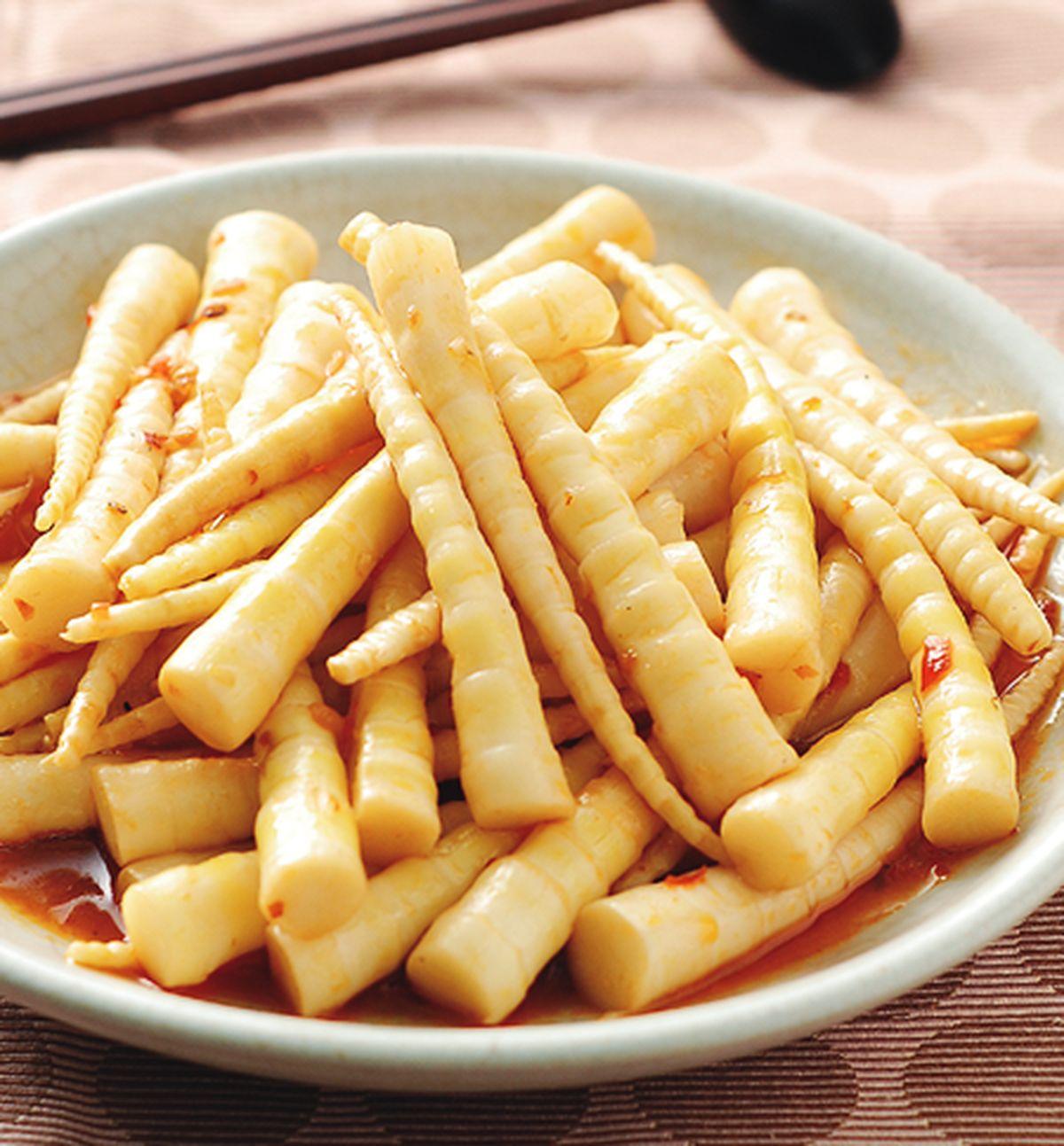 食譜:辣炒劍筍(1)