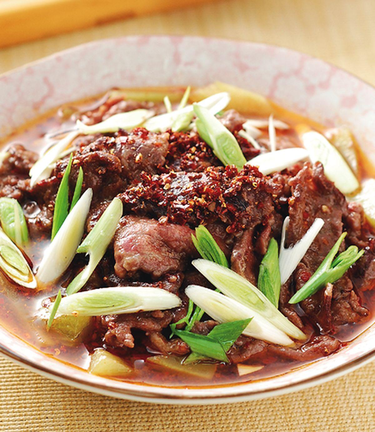 食譜:水煮牛肉