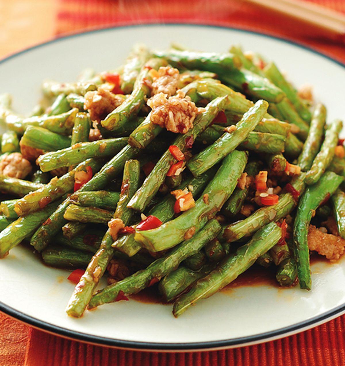 食譜:乾煸四季豆(5)