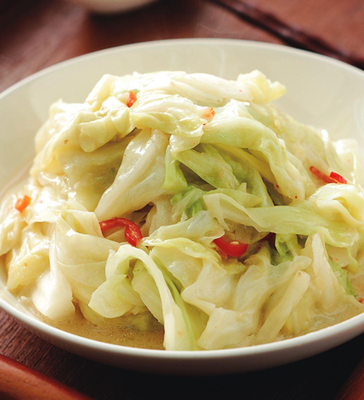 食譜:腐乳高麗菜