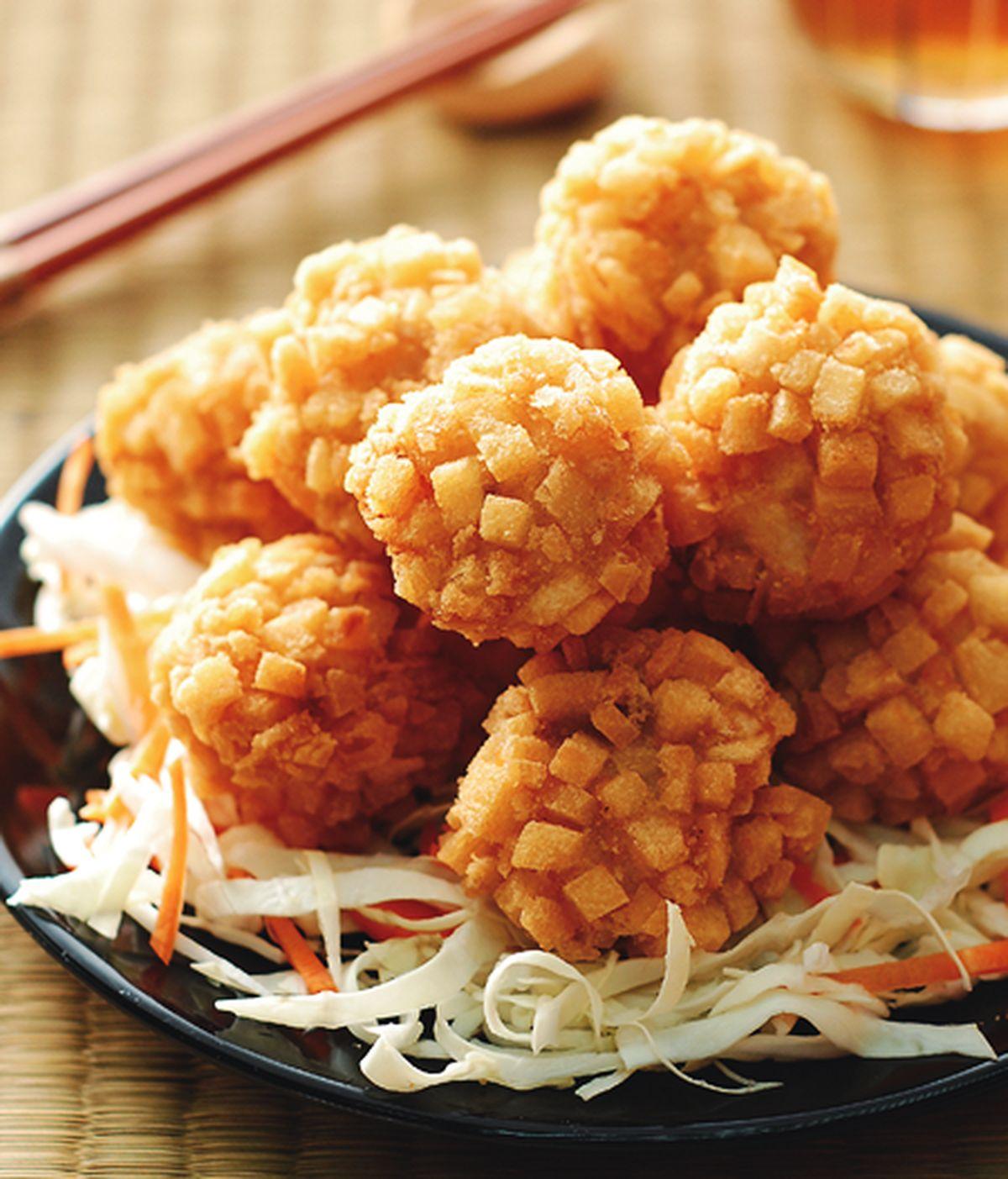 食譜:百粒炸蝦球