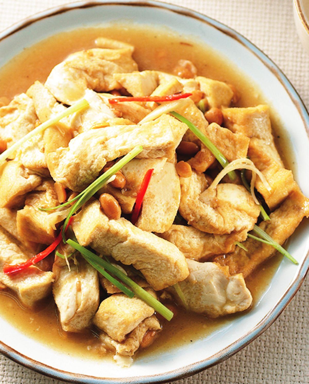 食譜:豆醬燒豆腐