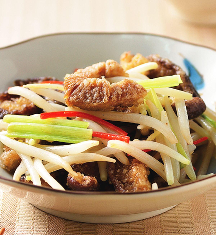 食譜:炒素鱔魚