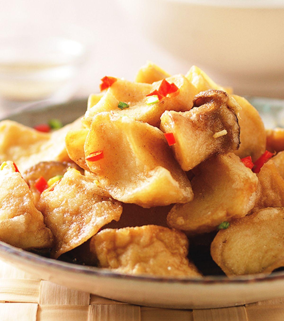 食譜:椒鹽杏鮑菇