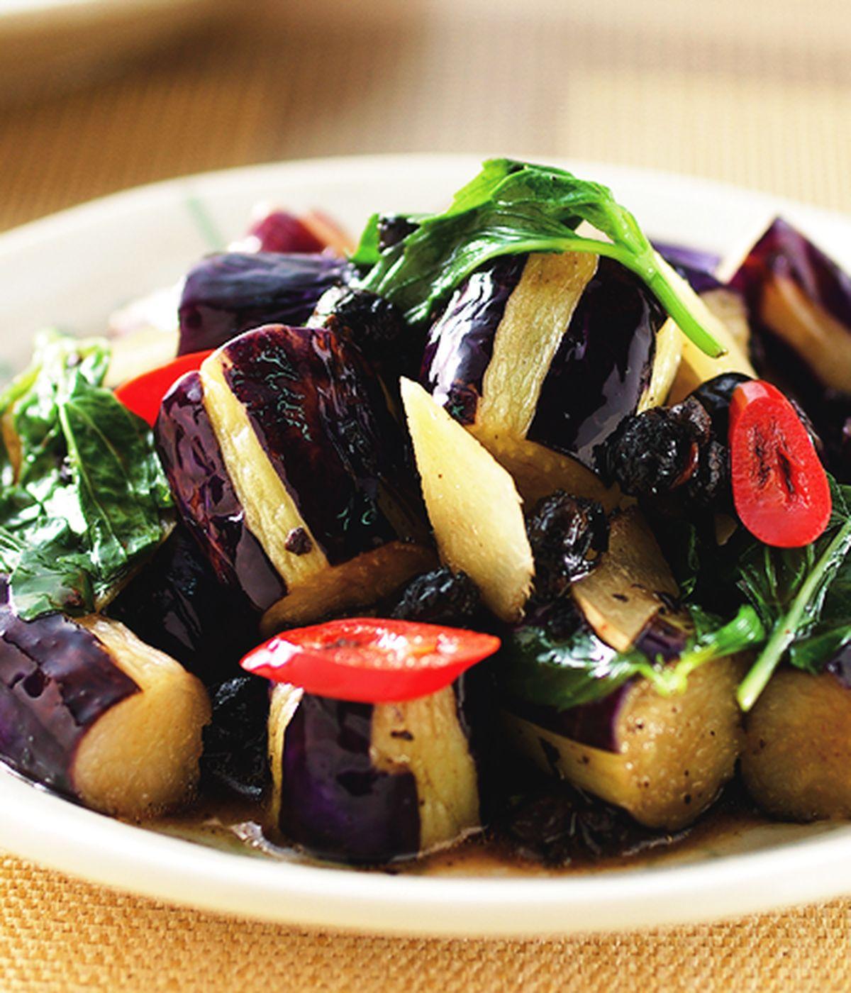 食譜:豆豉茄子