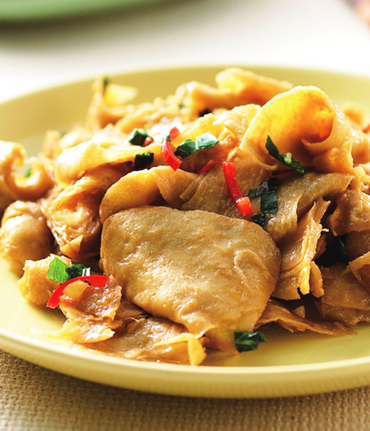 食譜:醬炒麵腸