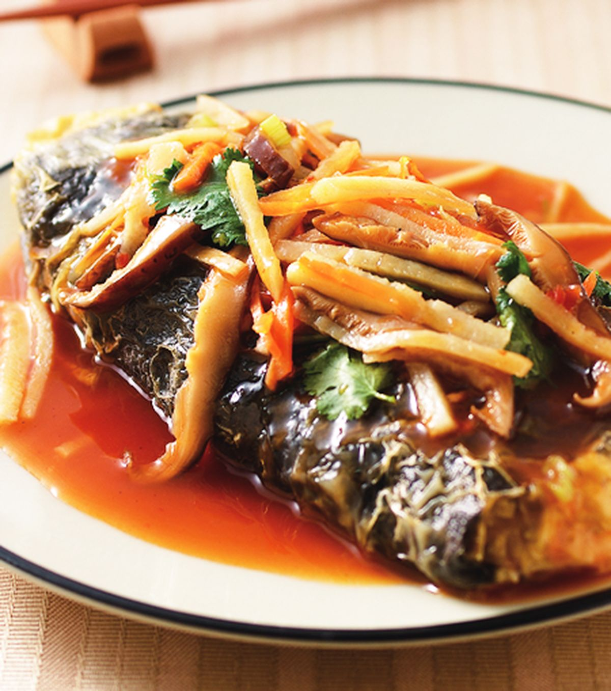 食譜:乾燒素魚