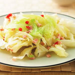 素火腿高麗菜