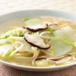 素蟹肉絲白菜