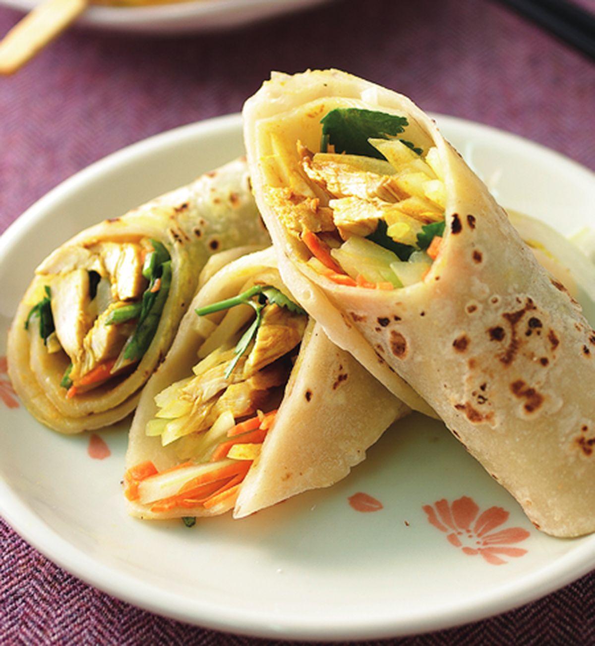 食譜:印度雞肉捲餅