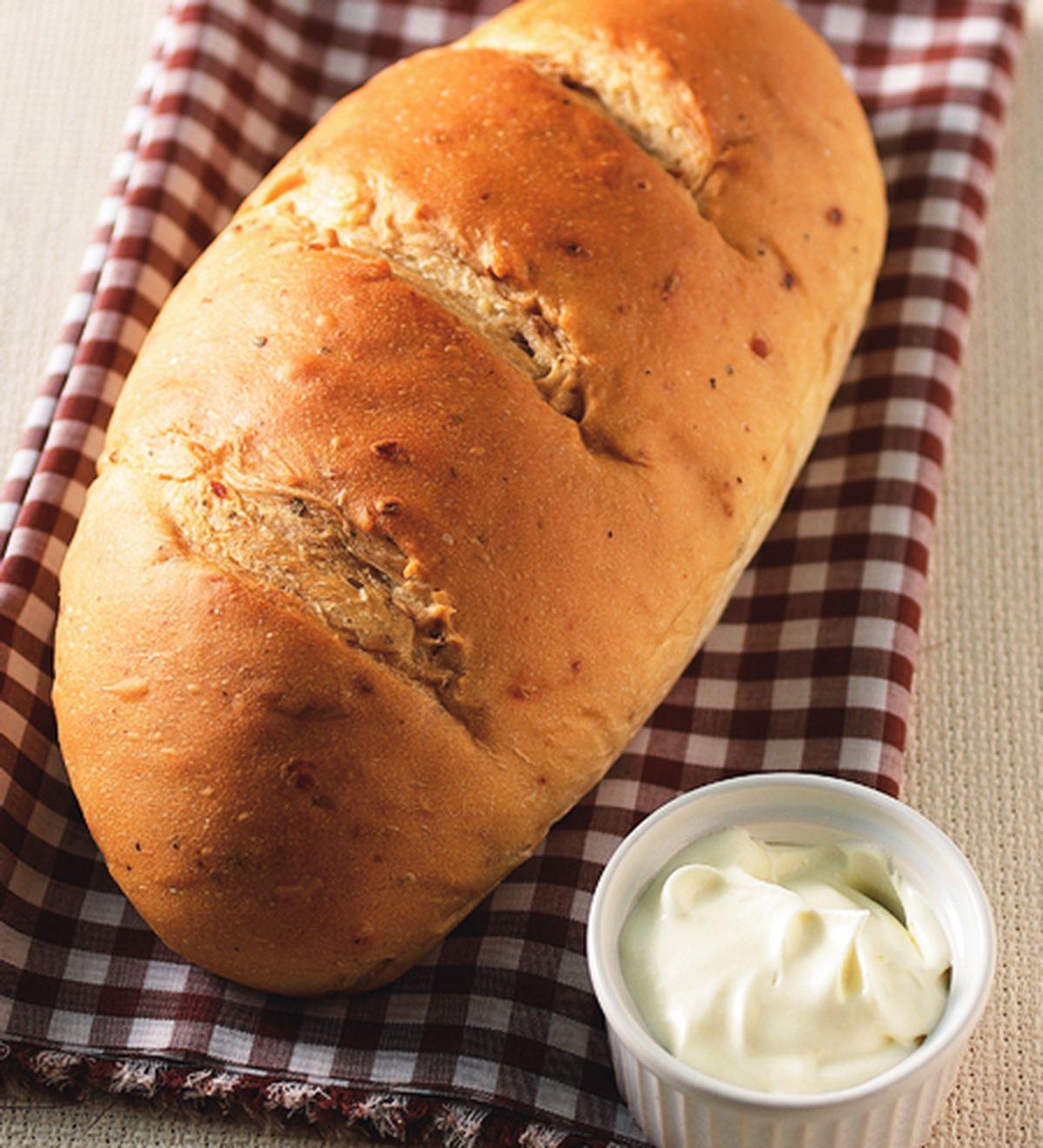 食譜:核桃高纖麵包