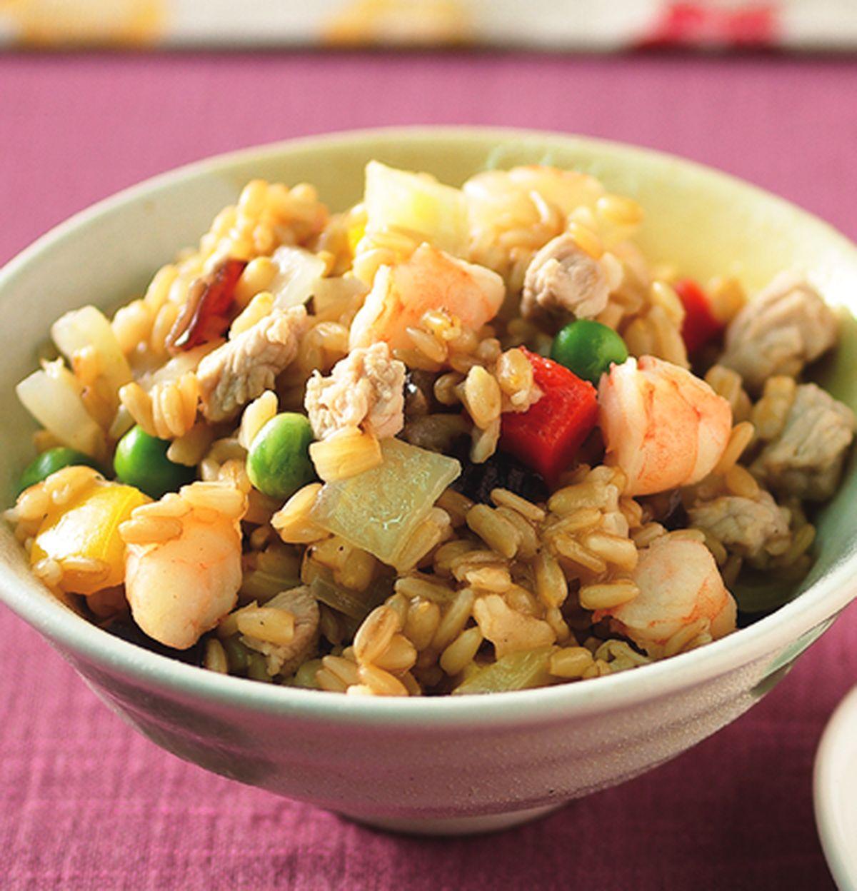 食譜:什錦燕麥炒飯