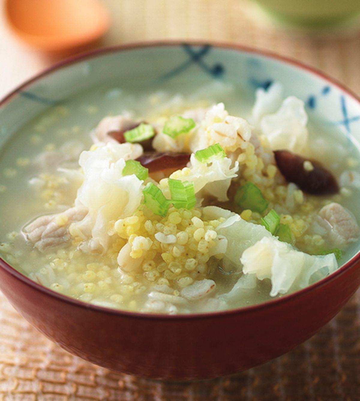 食譜:小米鹹粥