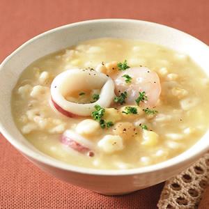 燕麥海鮮粥