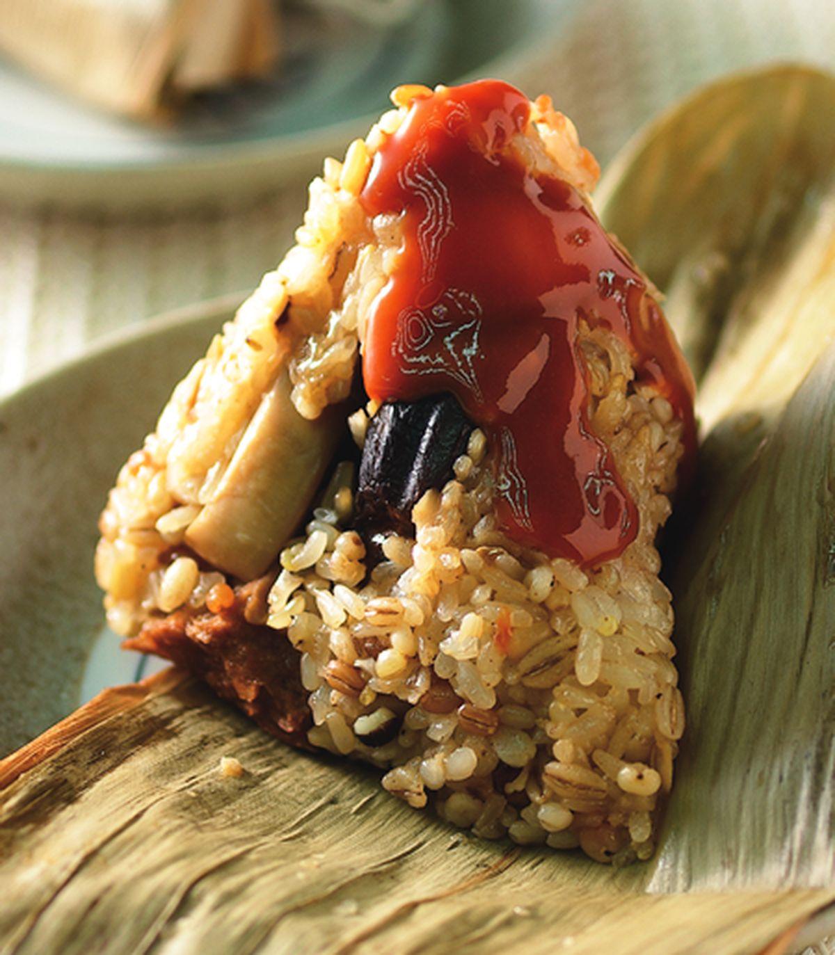 食譜:雜糧養生粽