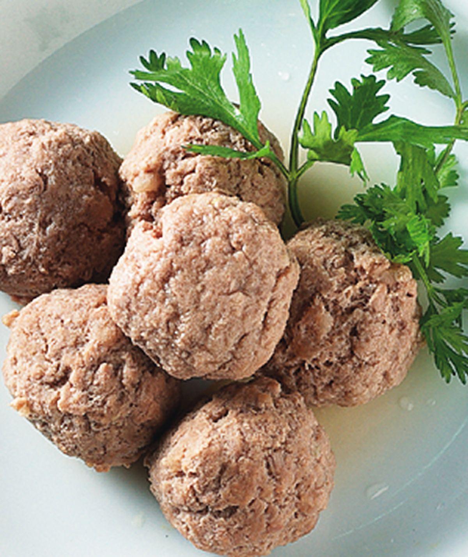 食譜:牛肉丸子(2)