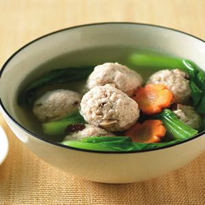 豆腐丸子湯(1)