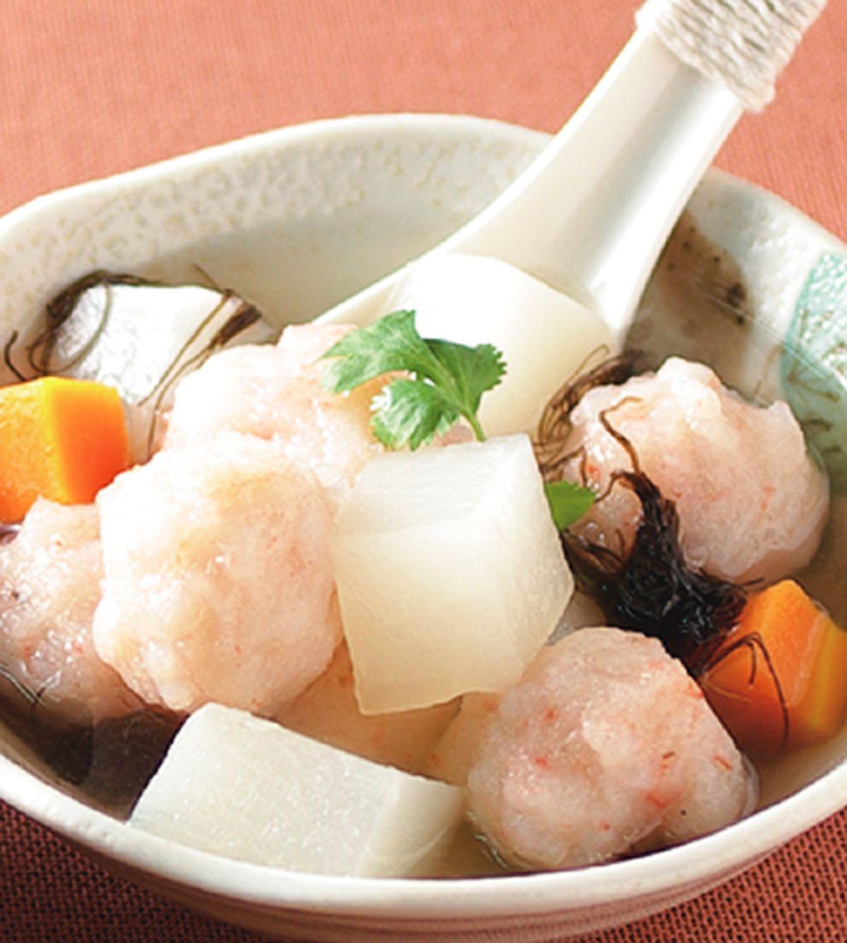 食譜:髮菜丸子湯
