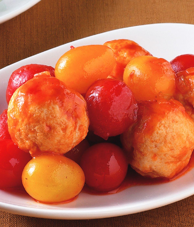 食譜:茄汁燴丸