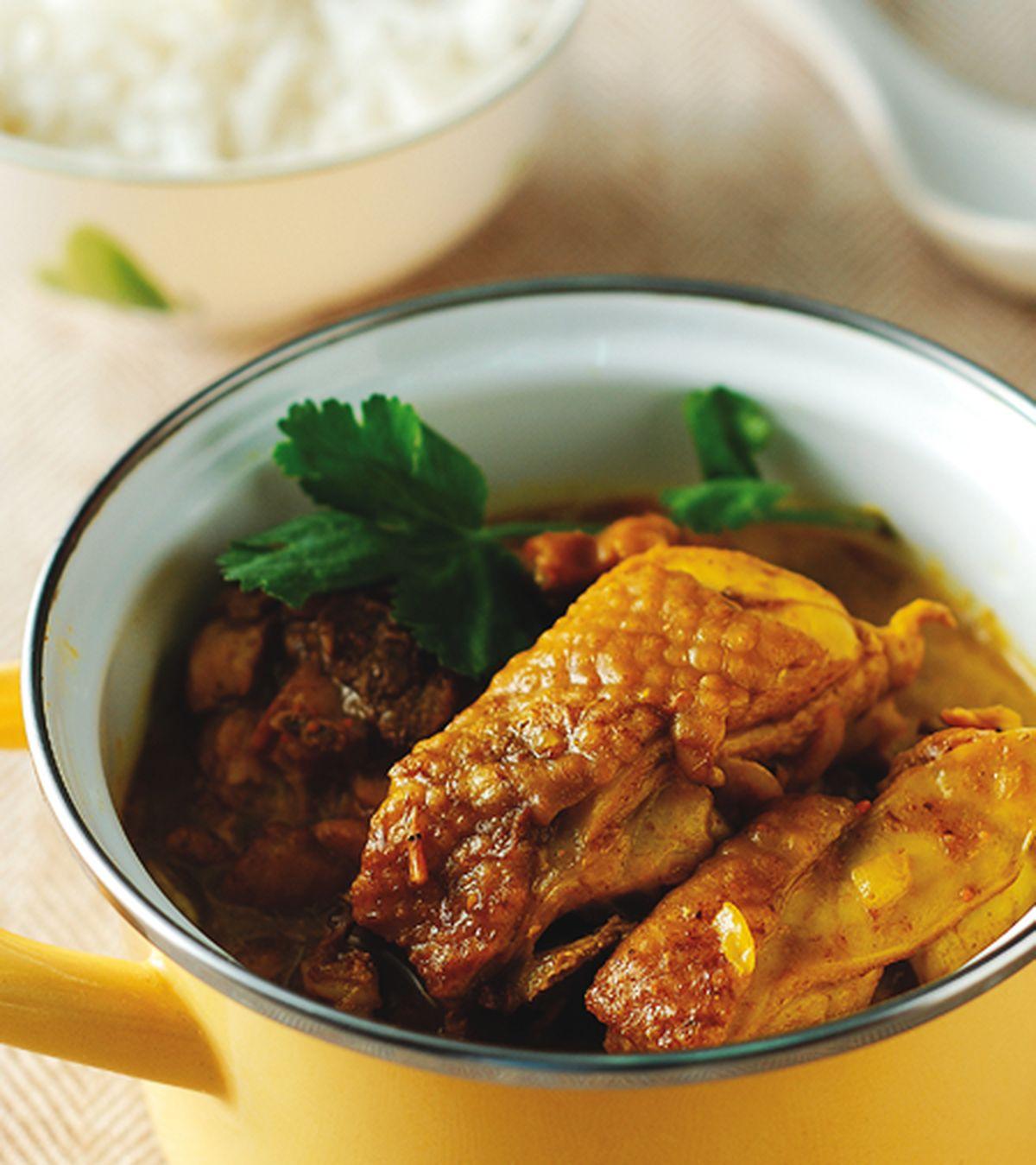 食譜:緬甸咖哩雞飯